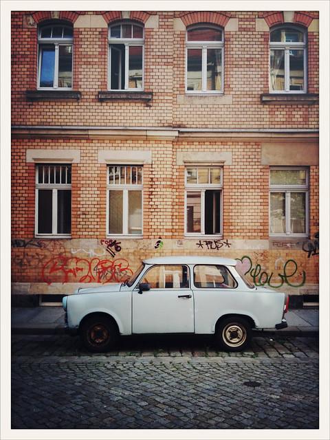 Acht Fenster - ein Trabant