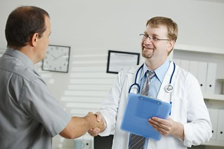 Doctor greating patient | by hang_in_there