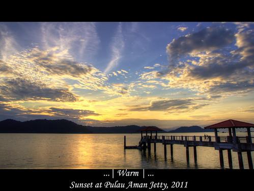 sunset sony penang tamron hdr highdynamicrange 1750mm 1750mmf28 pulauaman a580 pulauamanjetty sonya580