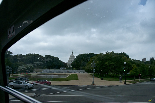 Capitol - from Union Station, Washington DC