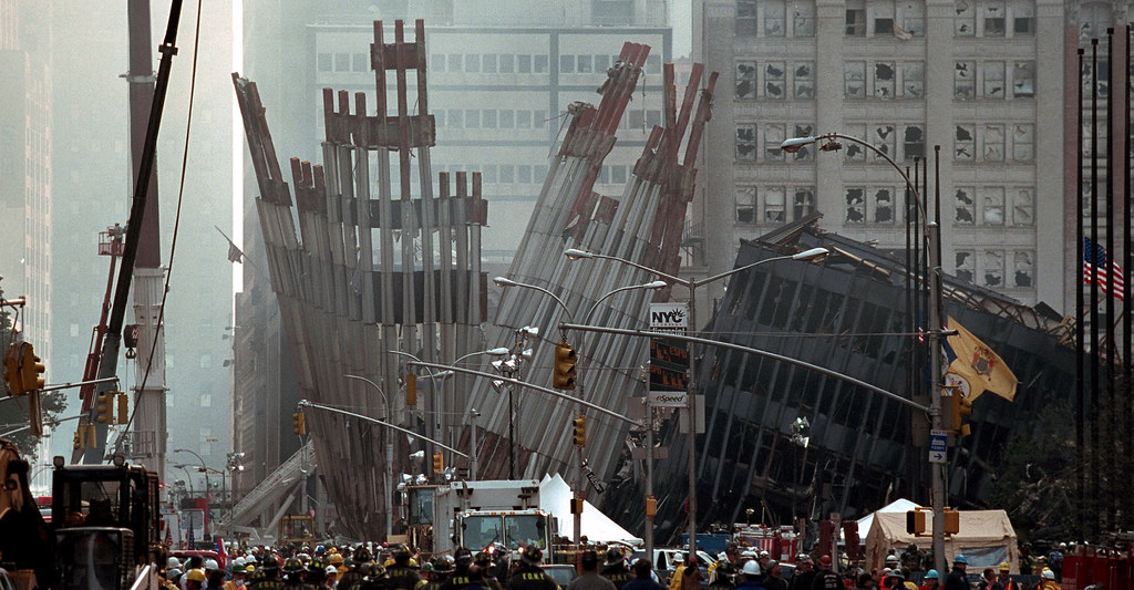 911: Ground Zero, 09/14/2001  | Original Caption: Remains of