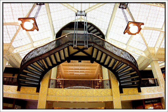 Chicago IL ~ Rookery Building ~ Stair Case