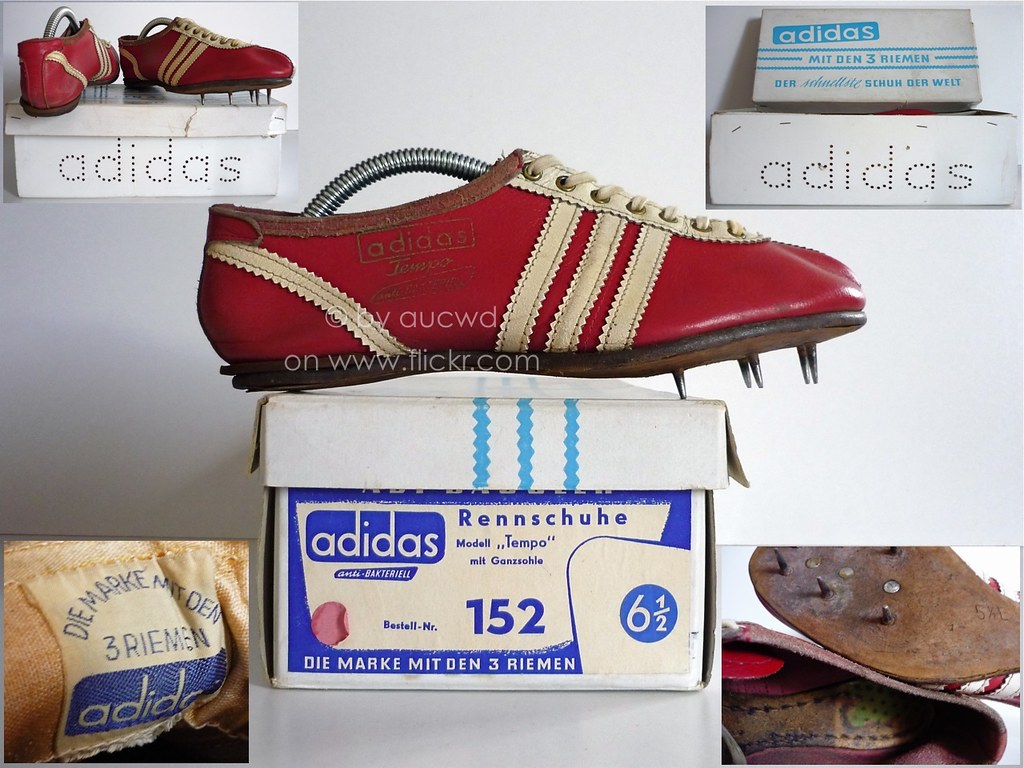 online store 0f6be 0f4f3 ... 50`S   60`S VINTAGE ADIDAS TEMPO RENNSCHUHE SPRINTER SPIKES   by aucwd