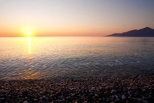 sunrise greece plaka soluppgång grekland theyachtweek2011