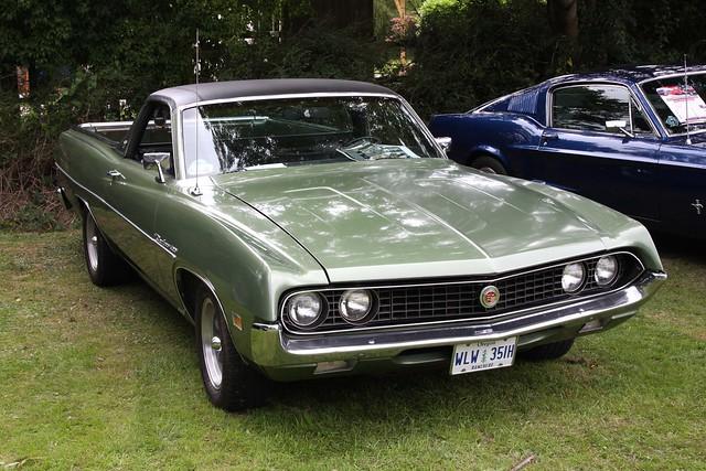 Capel Classic Car Show - 1969/70 Ford Ranchero 500 (WLW 351H)