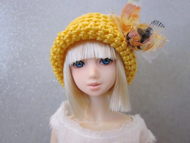 Kellis in her new hat