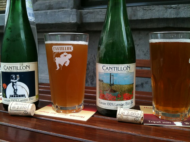 Brasserie Cantillon Geuze 2003 and 2010