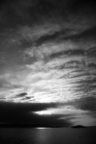 sunset noiretblanc coucherdesoleil saintpierreetmiquelon cedriccottaz ansebrossard amériquedunorddomtom