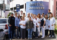 Patients and medical staff in Juiz de Fora Brazil (Brazil)