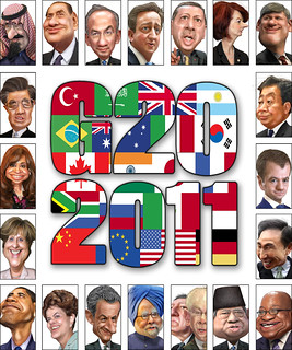 G20 heads of government - Caricatures (September 2011)