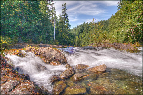 nature forest river landscape waterfall hdr campbellriver