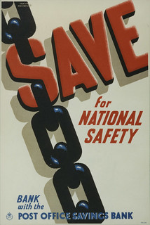 Save for national safety. Bank with the Post Office Savings Bank
