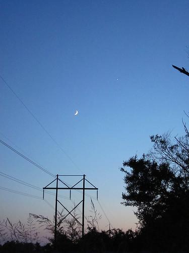 moon venus astrophotography 2010
