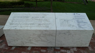 9-11-2001 Memorial Baltimore Inner Harbor  World Trade Center Plaza   by A.Currell