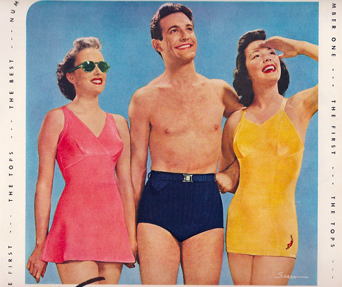 Ad 1940 Jantzen summer swimsuits | by Retroarama