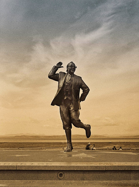 We recently went to Morecambe.....