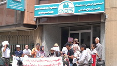 Standing in for treatment access (Morocco)