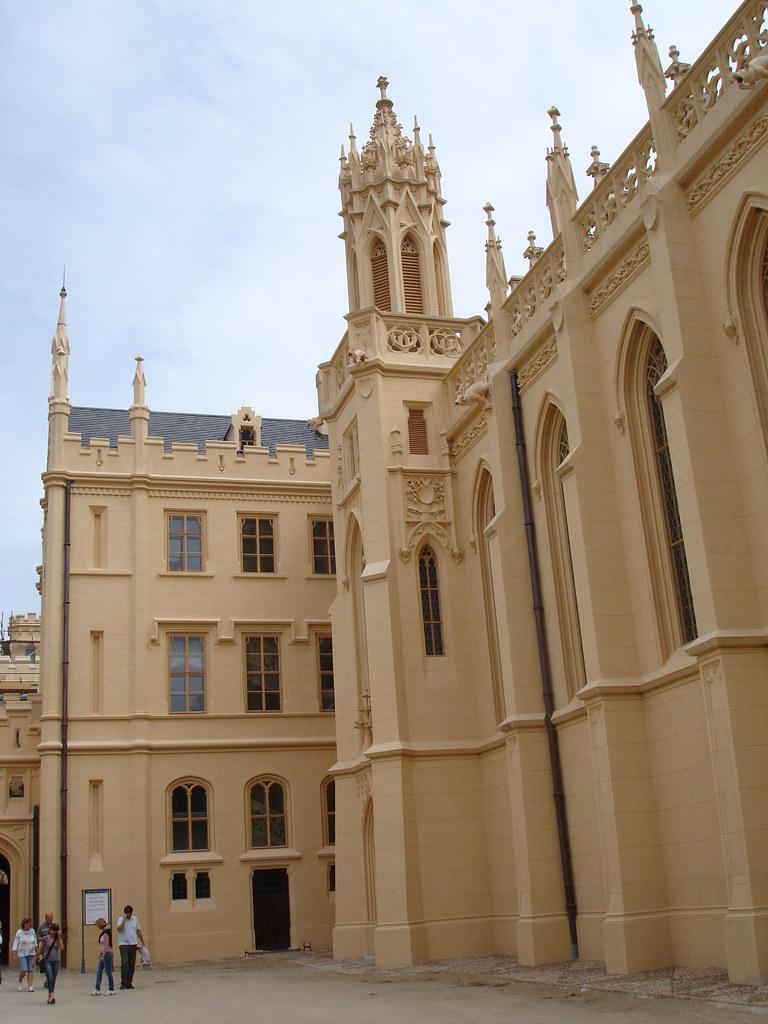 Lednice Castle - Castle facade