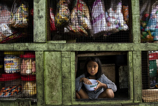 Smokey Mountain, Tondo - Girl behind that little window
