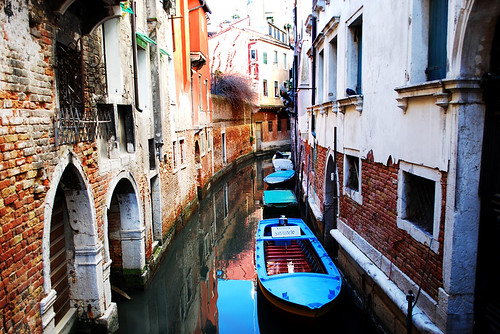 Venice Side Canal | by InspiredVision
