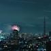 Sumida River Fireworks 2011, Tokyo, Japan by hidesax