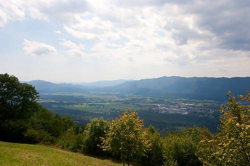 valley slovenija slowenien dolina tal svana ribnica malagora