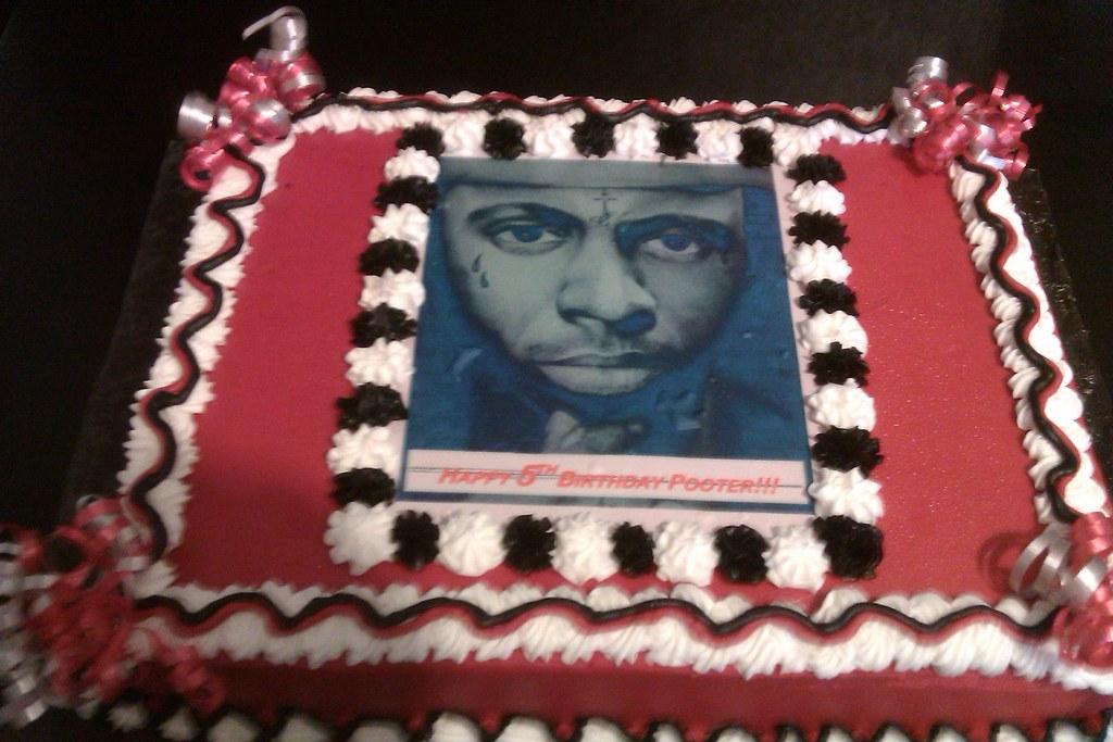 Amazing Lil Wayne Cake Amber J Southerns Flickr Personalised Birthday Cards Petedlily Jamesorg