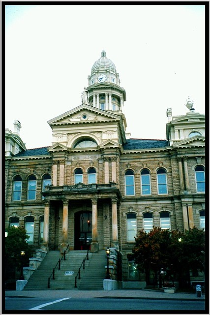 St. Clairsville OH ~ Belmont County Courthouse ~ Film 90's