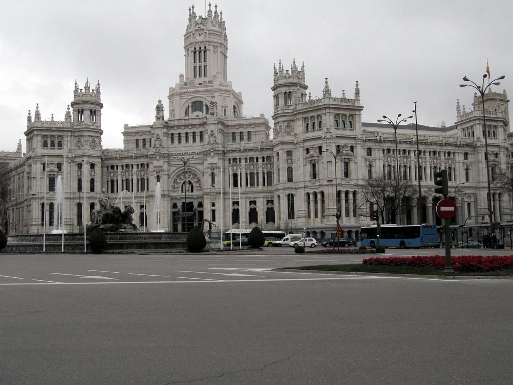 Palacio De Cibeles Madrid Gustavo1492 Flickr