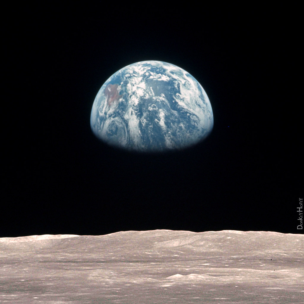 Earth from the Moon - Illustration | Earth from moon ...