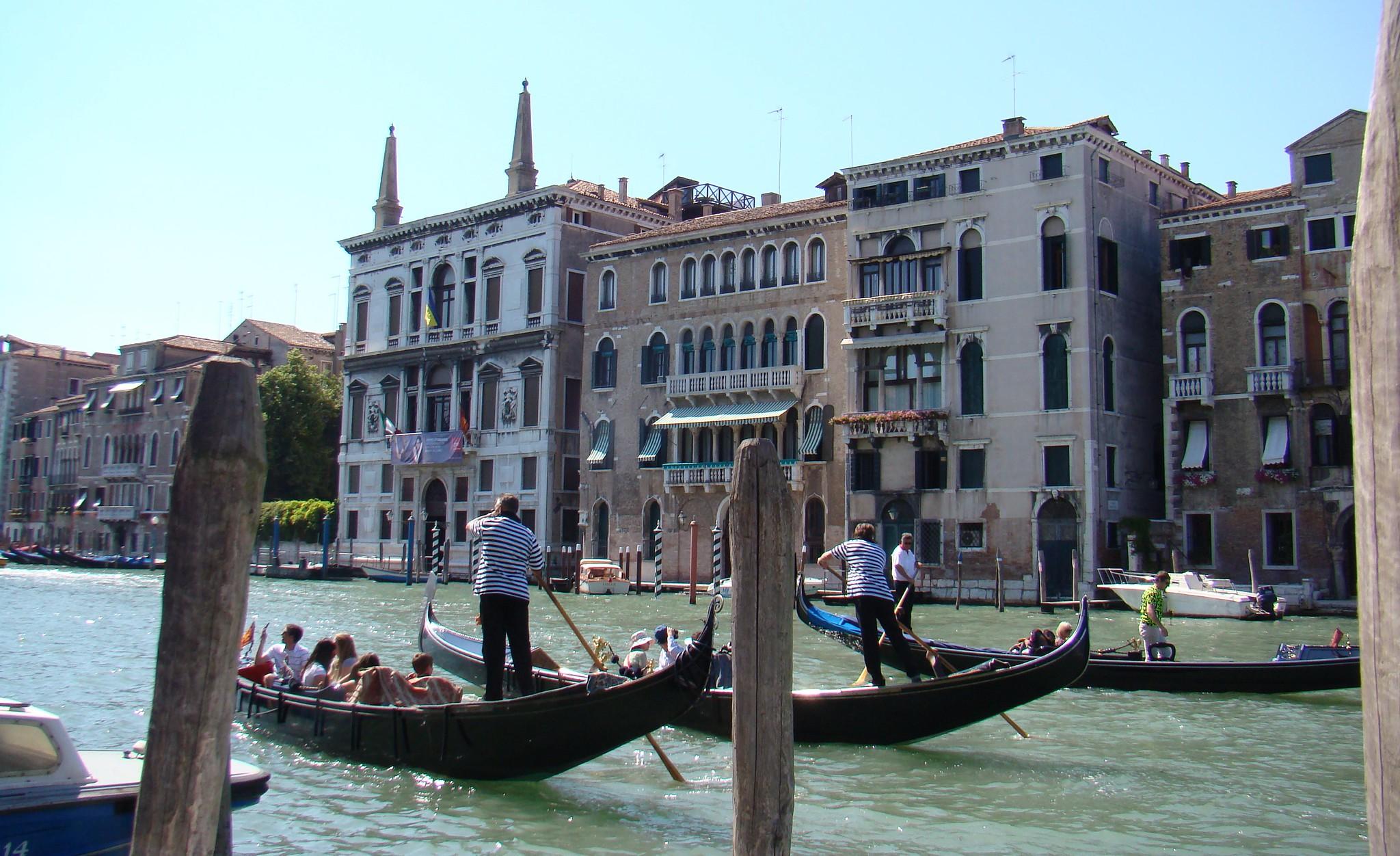 Gran Canal de Venecia Italia