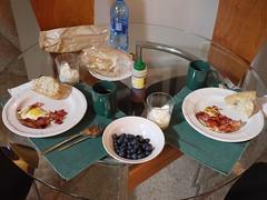 水, 2011-08-03 11:11 - 二日目の朝食