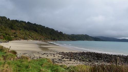 Stewart Island beach