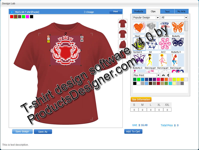 Online T Shirt Design Software Products Designer Custom T Flickr