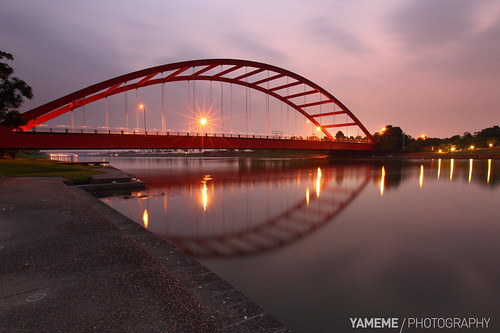 longexposure bridge sunset night canon nightshot taiwan 台灣 夜景 yilan 宜蘭 日落 黑卡 利澤簡橋 長曝 1635mmlii 5dmarkii