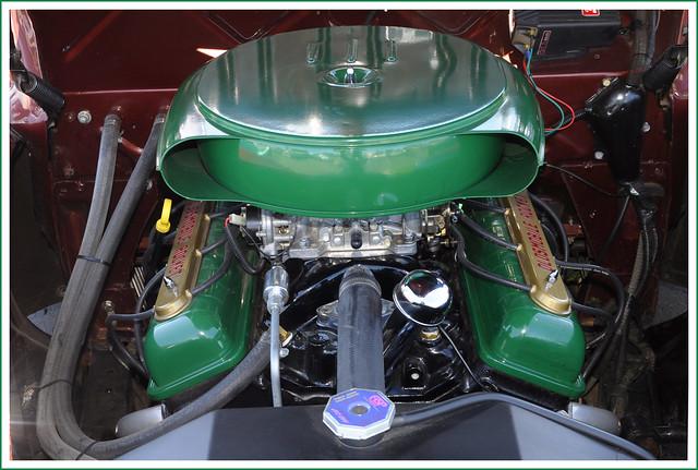 Olds Rocket 88 Engine