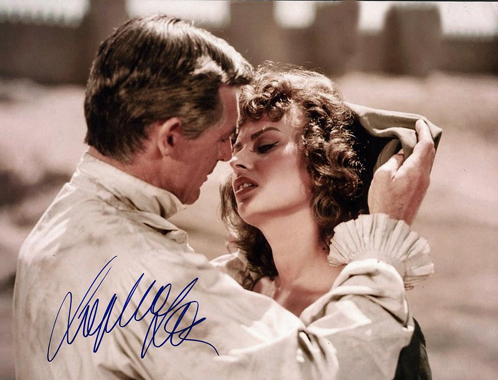 Ávila. Sofía Loren y Cary Grant. Fotografía promocional de… | Flickr