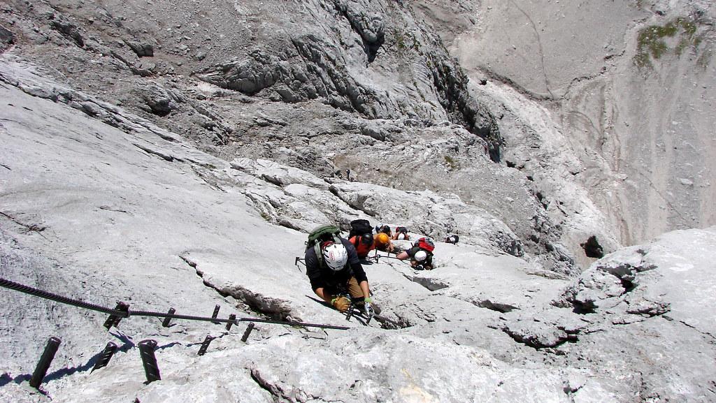 Klettersteig Johann Dachstein : Super ferrata dachstein 2011 johann klettersteig alesduchac flickr