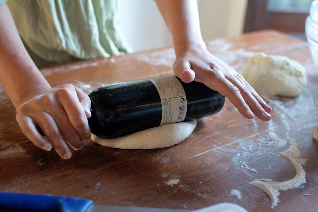 Making pizza the italian way