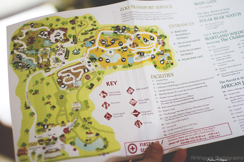 Baltimore Zoo Map Baltimore Zoo Map [08.07.11] | View On Black RAW ISO 100 1/3… | Flickr