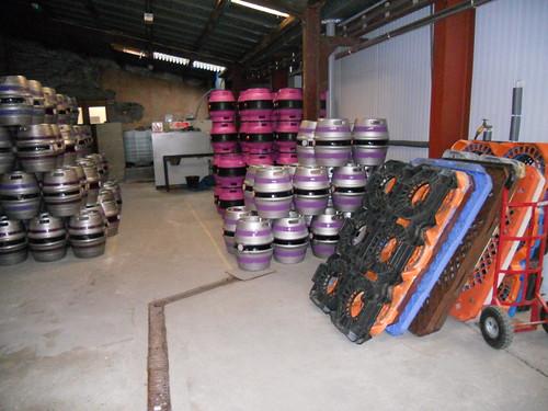 A selection of Purple Moose casks
