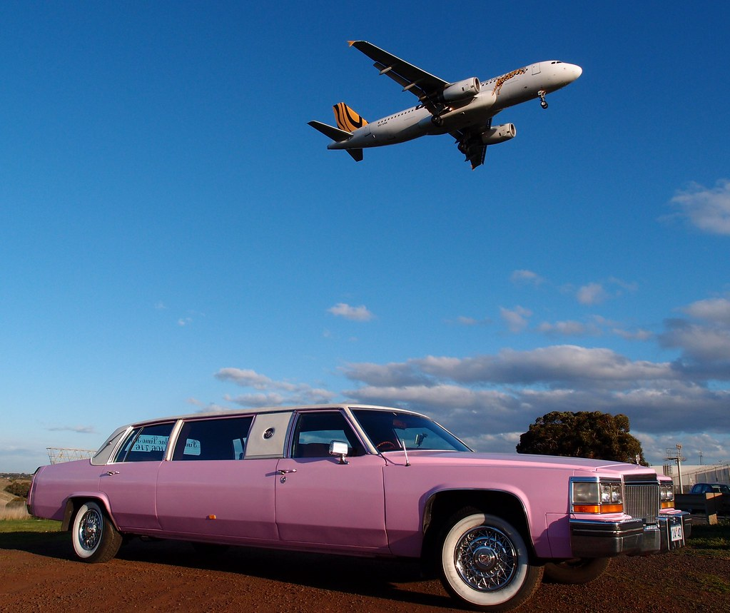 P8250081   Pink Cadillac Limo Hire. Photo taken near ...