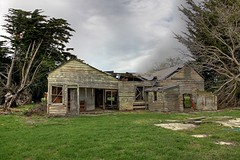 Old house, Selwyn, Canterbury, New Zealand