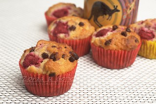 Rasberry muffins   by private miguev