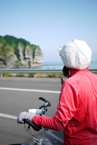 Coastal scenery on the Shakotan Peninsula, Hokkaido, Japan   by Robert Thomson