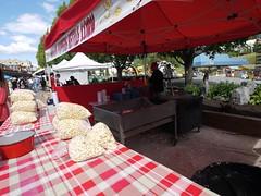 水, 2011-08-03 18:23 - Upper Villageで毎週水曜日にあるファーマーズマーケット, ポップコーン屋