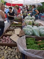 水, 2011-08-03 18:19 - Upper Villageで毎週水曜日にあるファーマーズマーケット, パン屋