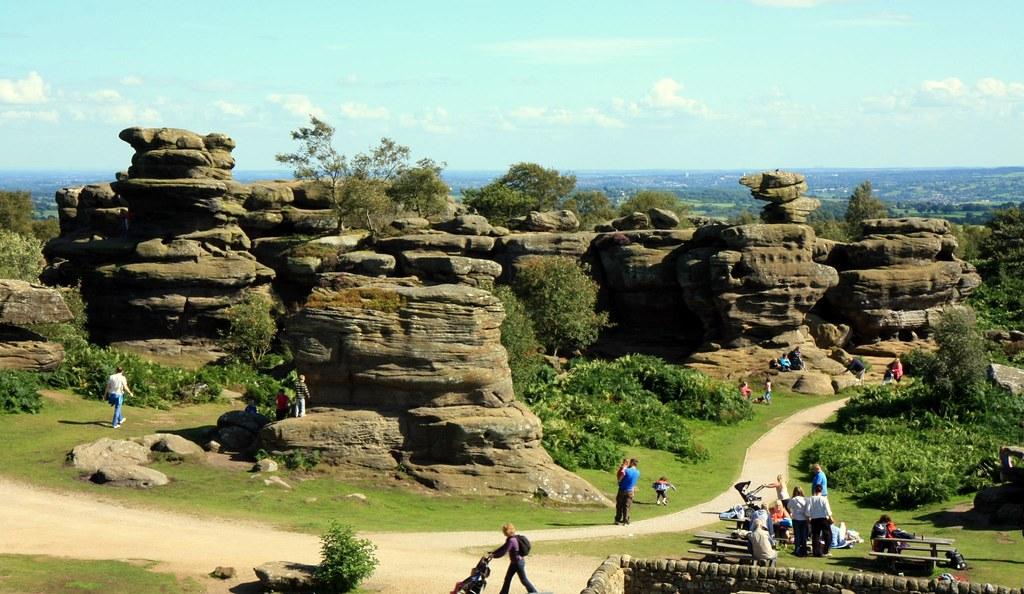 Brimham Rocks Stacks