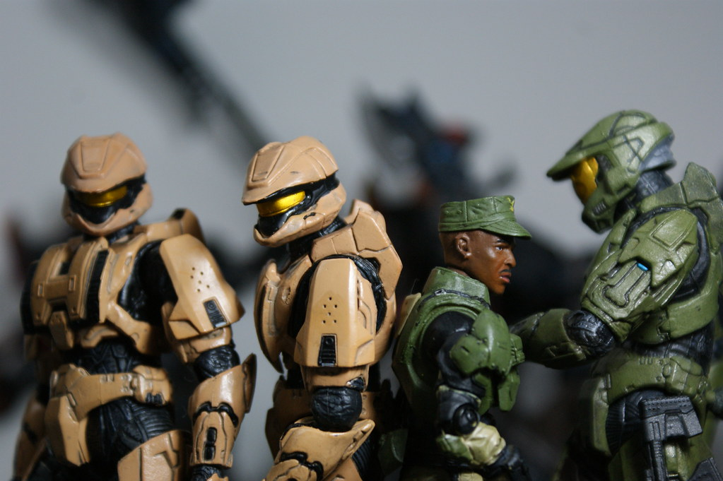Halo 3 Scout MK 6 Spartans Sgt Johnson | toothpic_Vic | Flickr