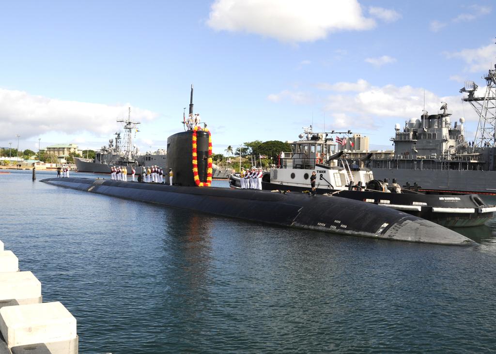 USS Santa Fe (SSN 763) Submarine | PEARL HARBOR (Aug  24, 20
